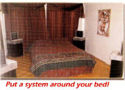 Put the Scalar System around your bed